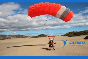What are the parts of a parachute?