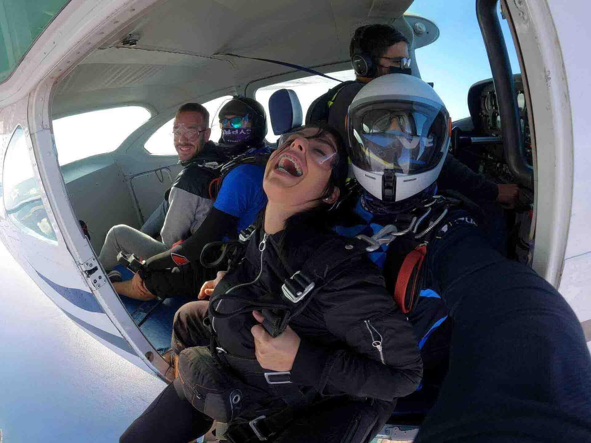 Riesgos del paracaidismo